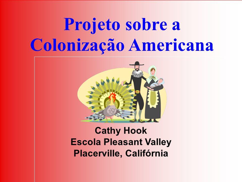 Projeto sobre a Colonização Americana