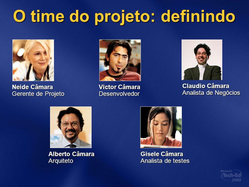 O time do projeto: definindo