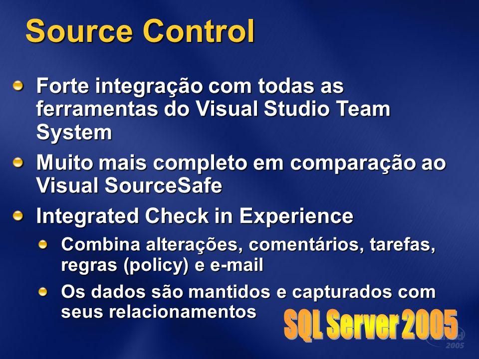 Source Control SQL Server 2005