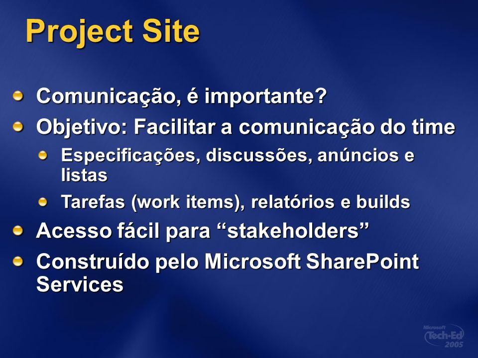 Project Site Comunicação, é importante