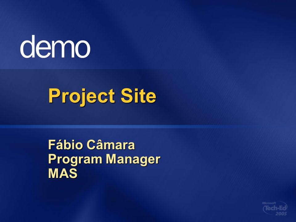 Fábio Câmara Program Manager MAS