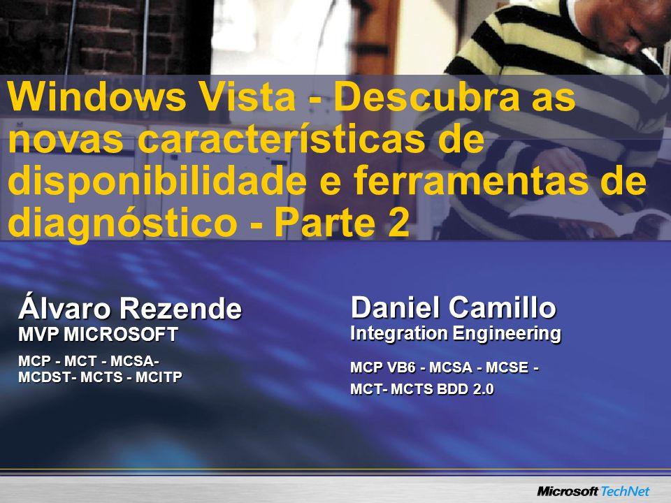 Álvaro Rezende MVP MICROSOFT MCP - MCT - MCSA- MCDST- MCTS - MCITP