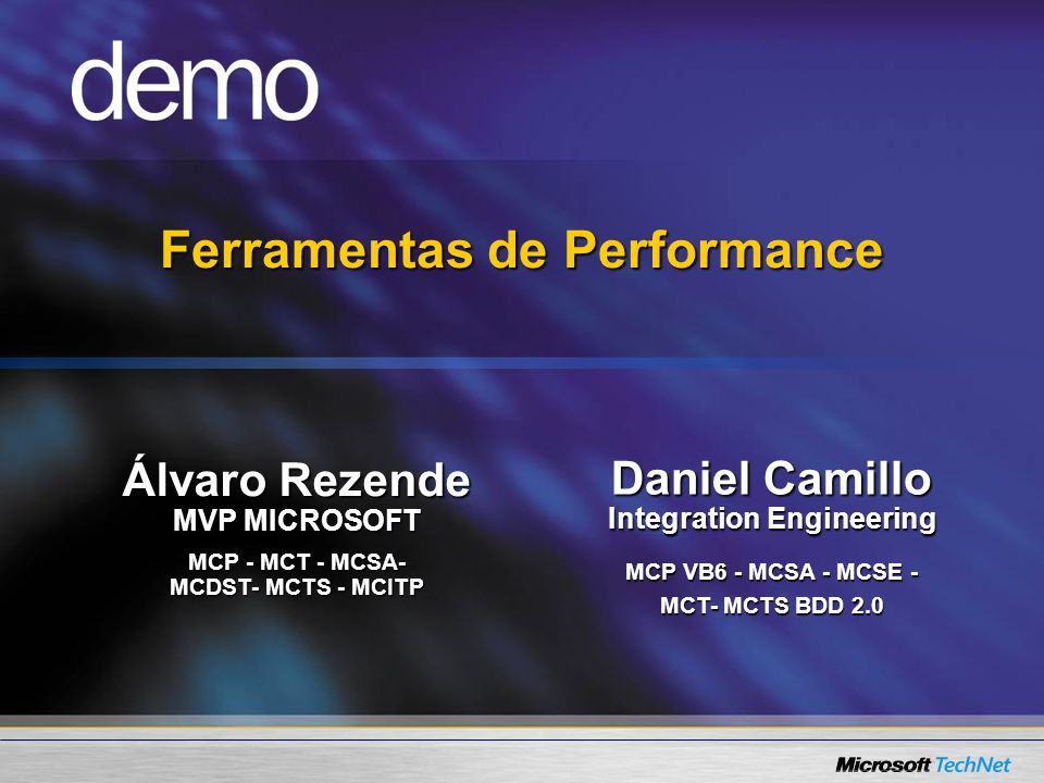 Ferramentas de Performance Integration Engineering