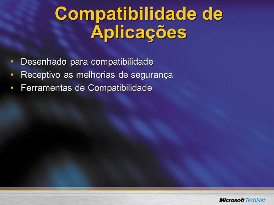 Compatibilidade de Aplicações
