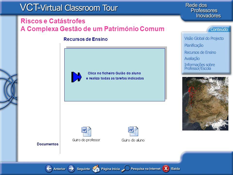 Clica no ficheiro Guião do aluno e realiza todas as tarefas indicadas