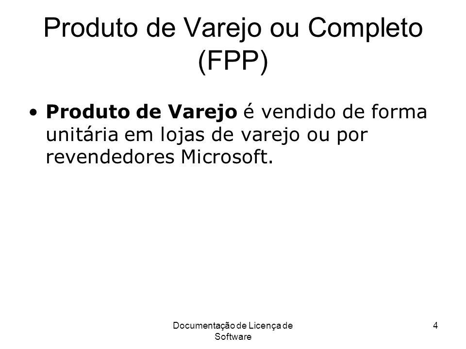 Produto de Varejo ou Completo (FPP)