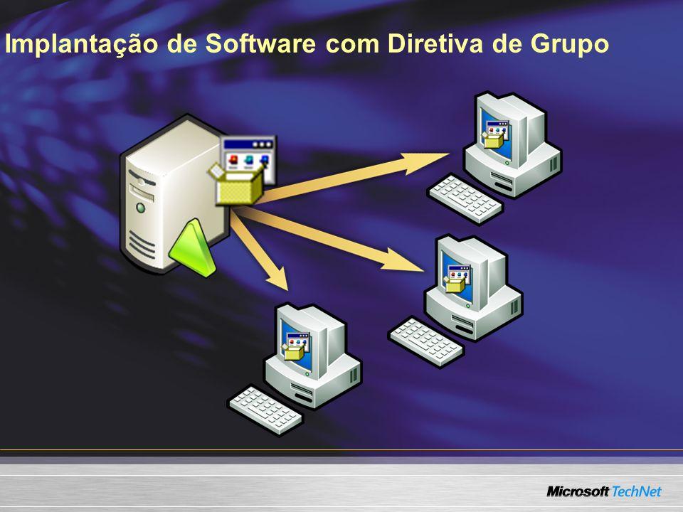 Implantação de Software com Diretiva de Grupo