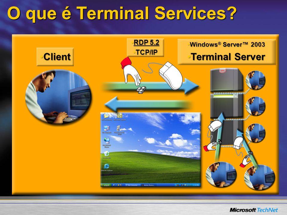 O que é Terminal Services