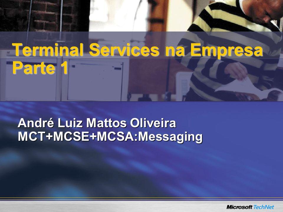 Terminal Services na Empresa Parte 1