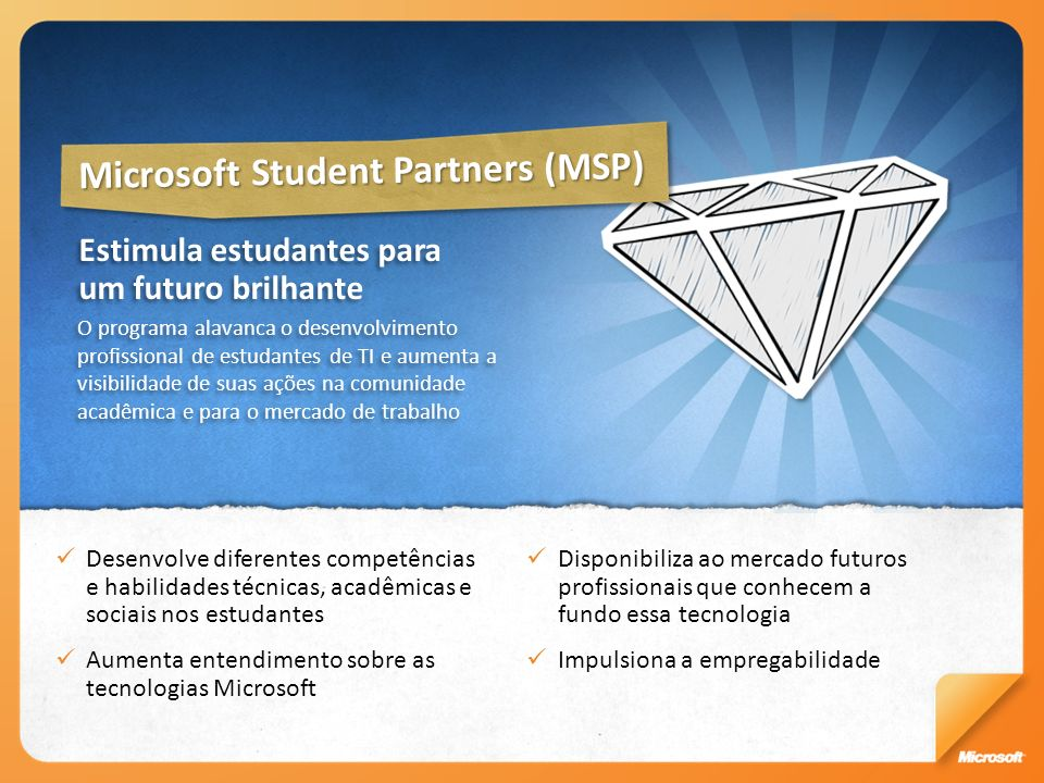 Microsoft Student Partners (MSP)