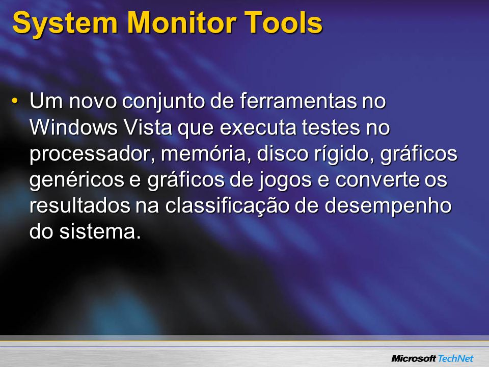 System Monitor Tools