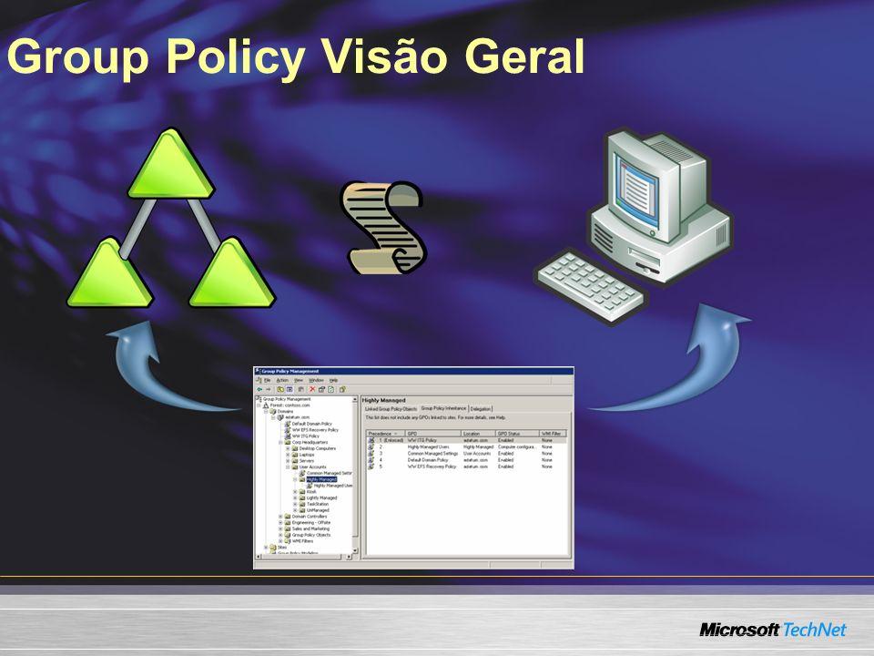 Group Policy Visão Geral