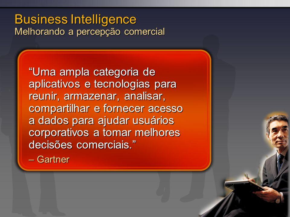 Business Intelligence Melhorando a percepção comercial