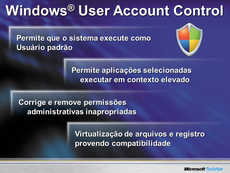 Windows® User Account Control