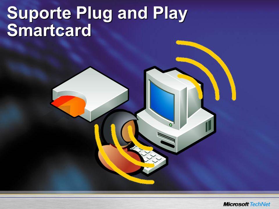 Suporte Plug and Play Smartcard