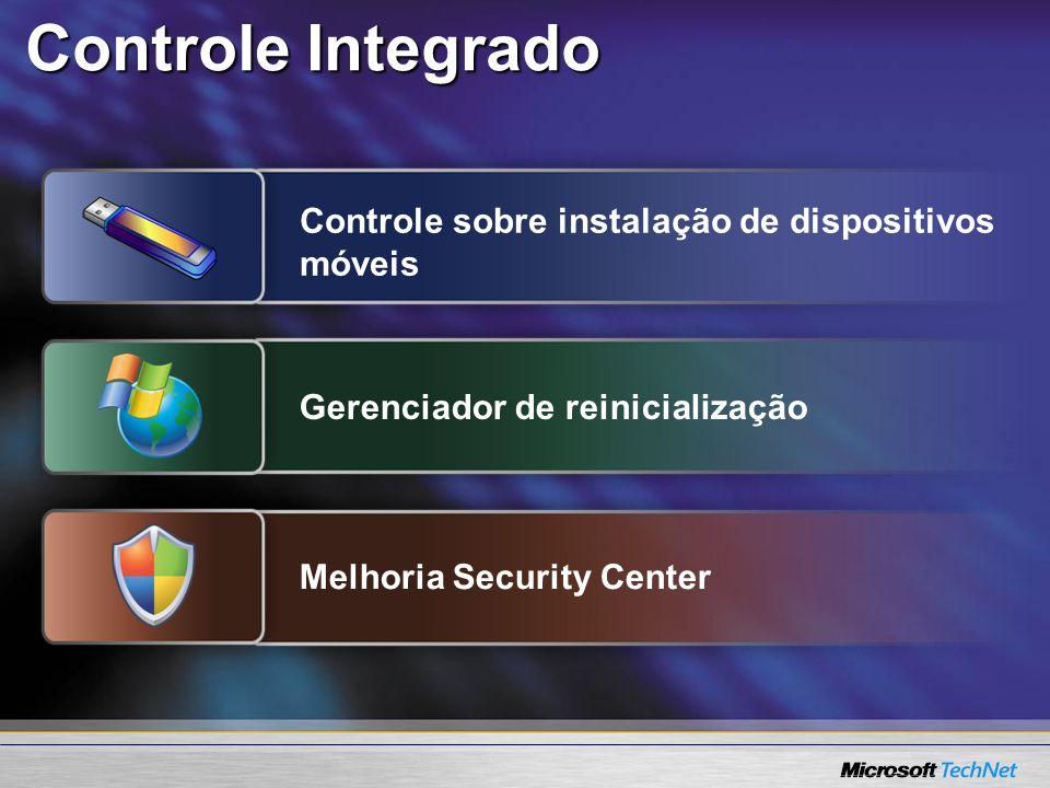 Controle Integrado Controle sobre instalação de dispositivos móveis