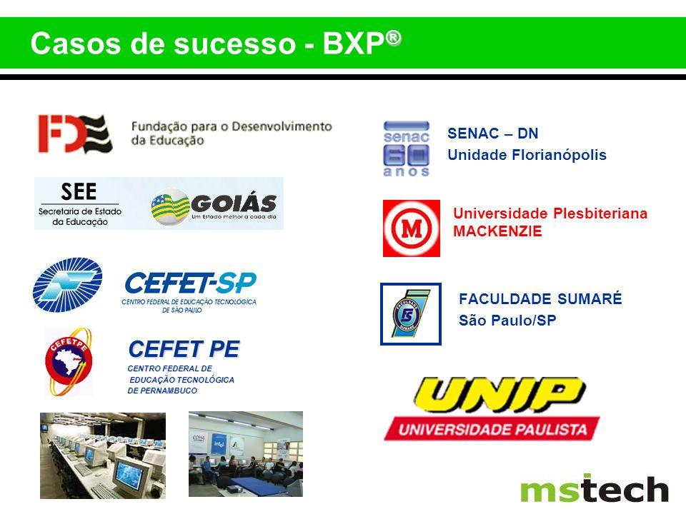 Casos de sucesso - BXP® CEFET PE SENAC – DN Unidade Florianópolis