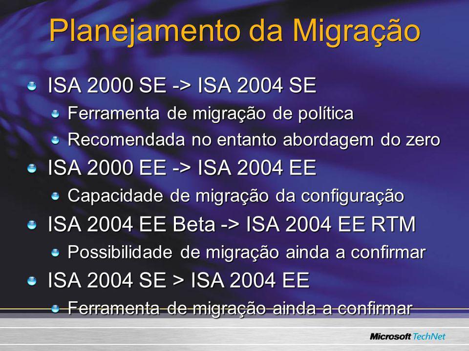 Planejamento da Migração