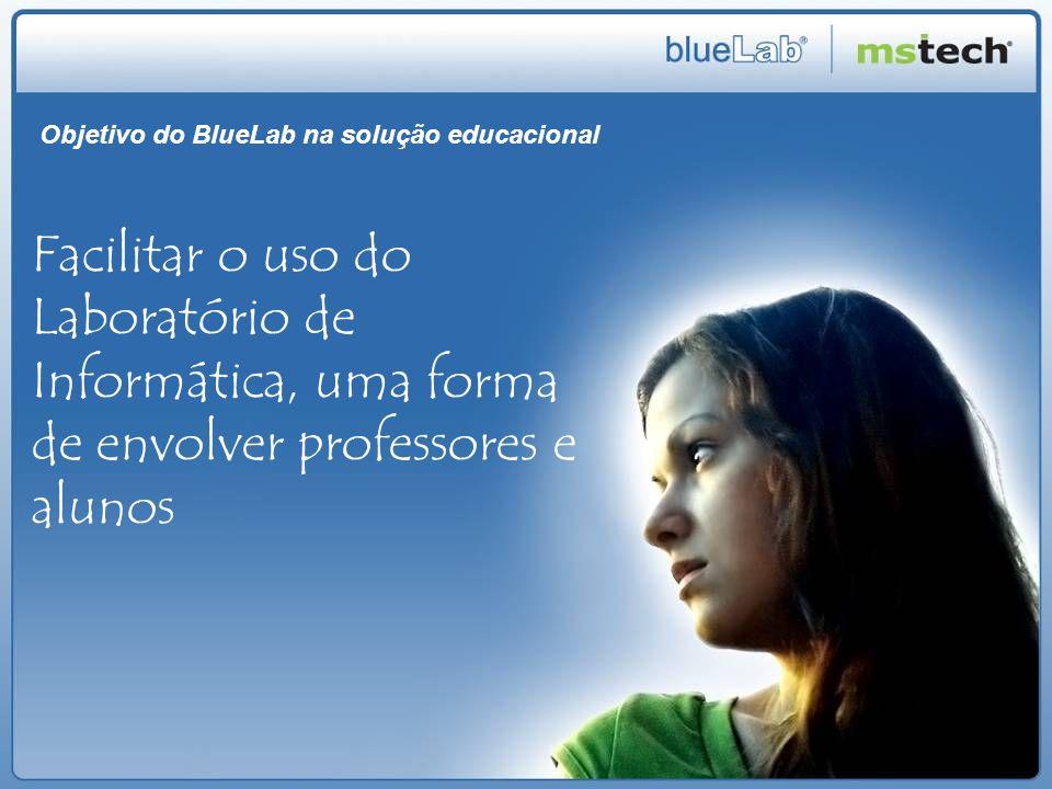 Objetivo do BlueLab na solução educacional