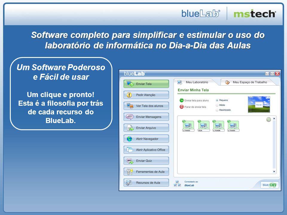 Software completo para simplificar e estimular o uso do laboratório de informática no Dia-a-Dia das Aulas
