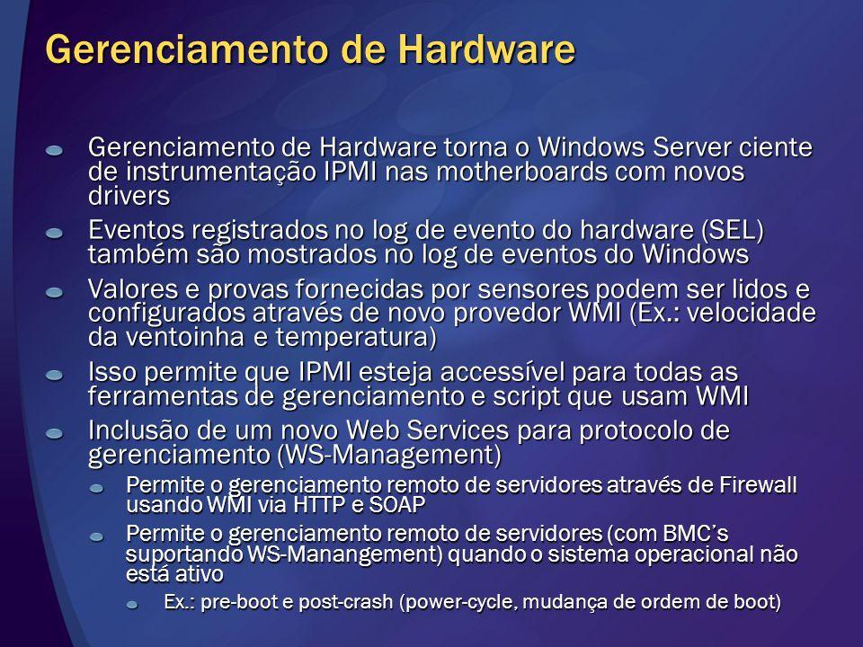 Gerenciamento de Hardware