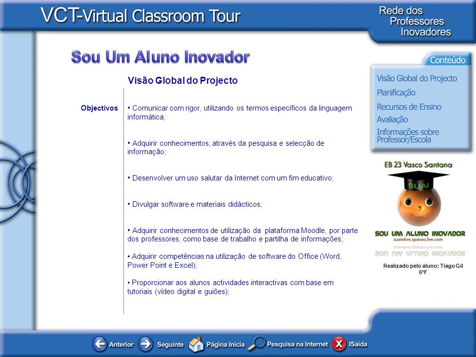 Visão Global do Projecto