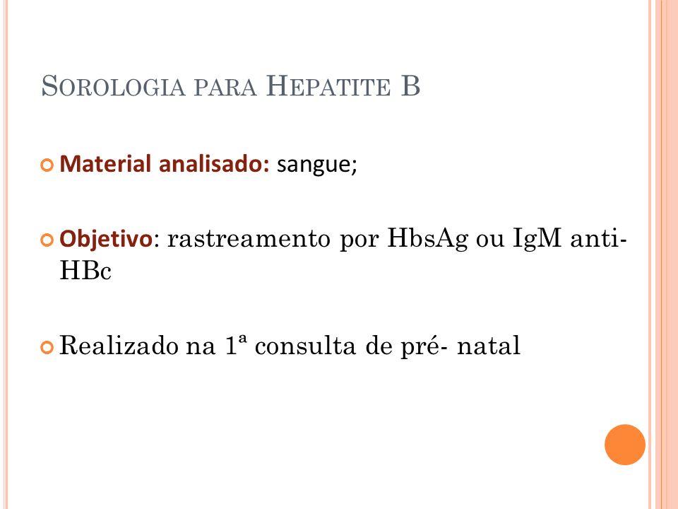 Exames hepatite b
