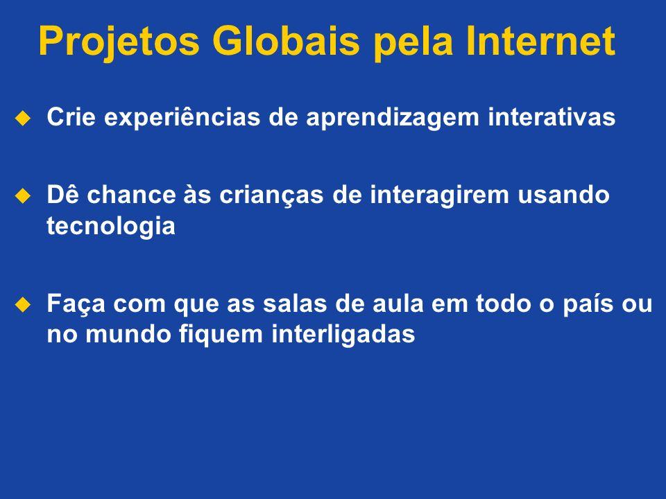 Projetos Globais pela Internet