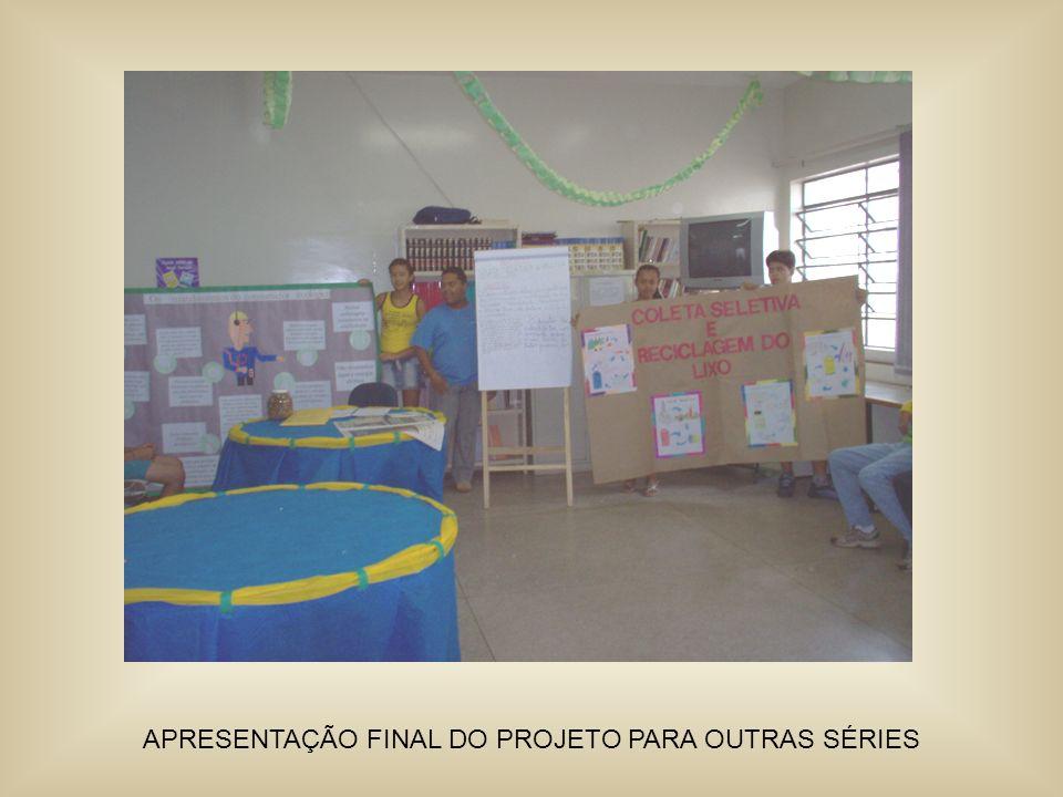 APRESENTAÇÃO FINAL DO PROJETO PARA OUTRAS SÉRIES
