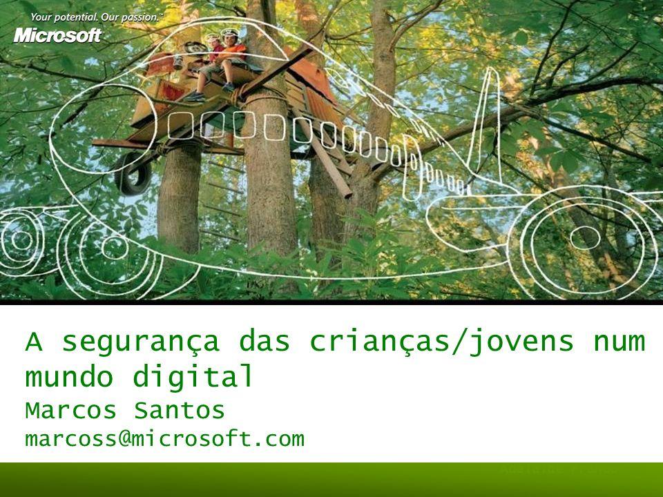 A segurança das crianças/jovens num mundo digital