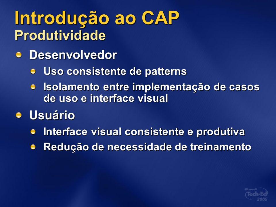 Introdução ao CAP Produtividade