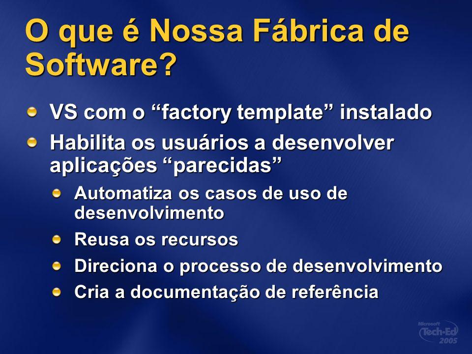 O que é Nossa Fábrica de Software