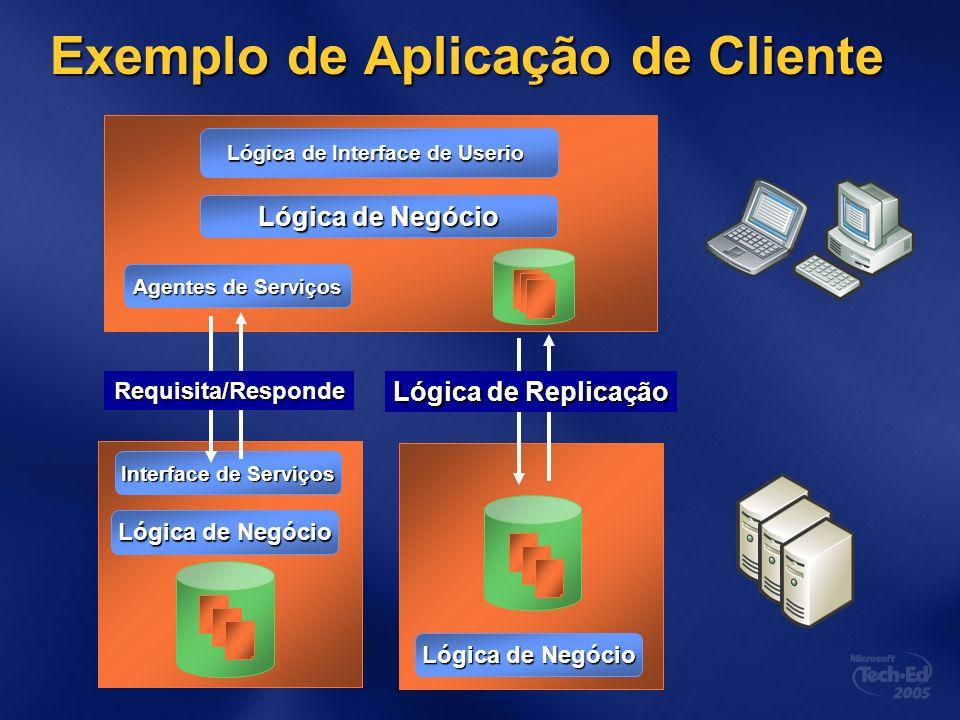 Exemplo de Aplicação de Cliente