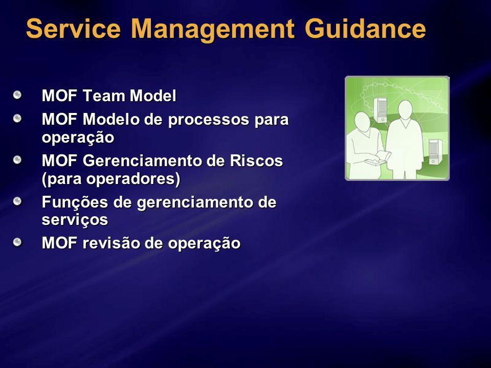 Service Management Guidance