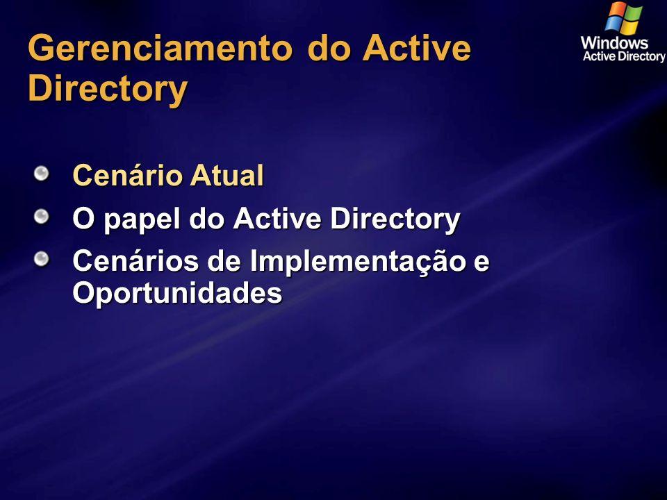 Gerenciamento do Active Directory