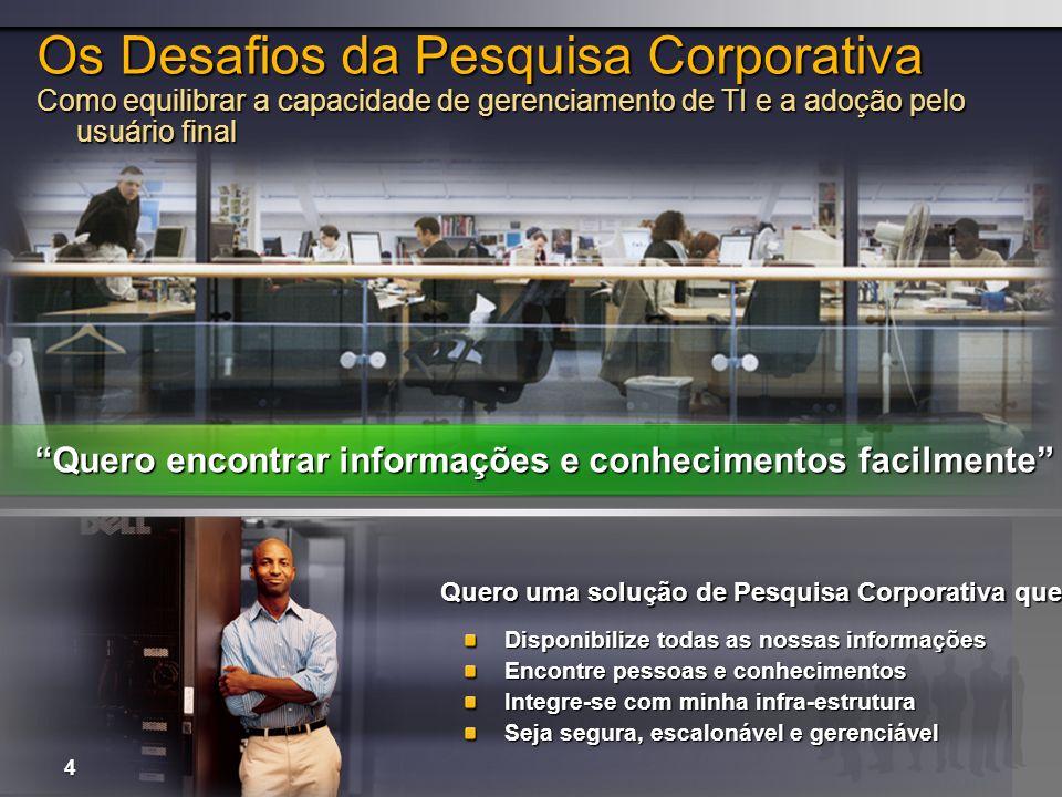 Os Desafios da Pesquisa Corporativa