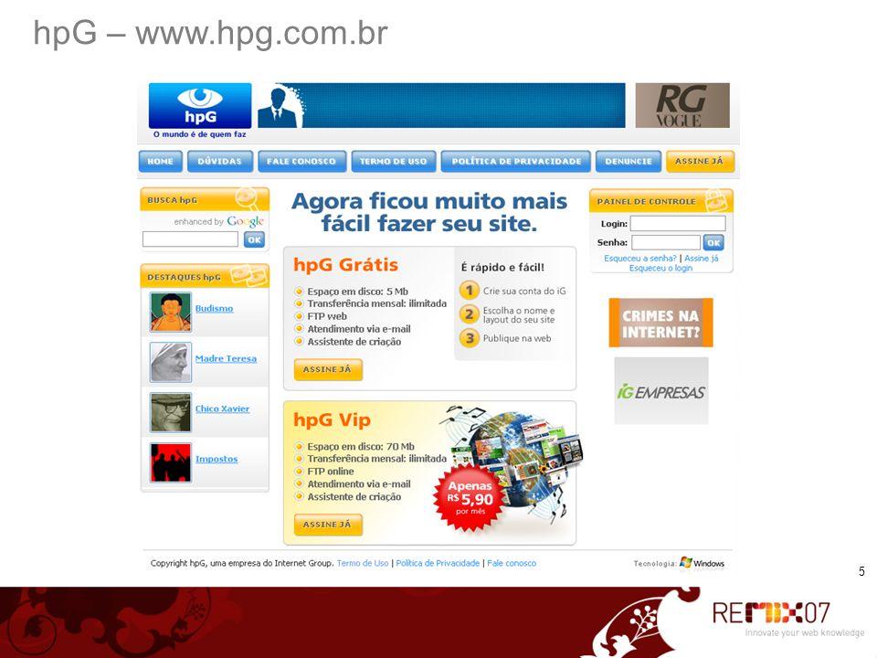 hpG – www.hpg.com.br