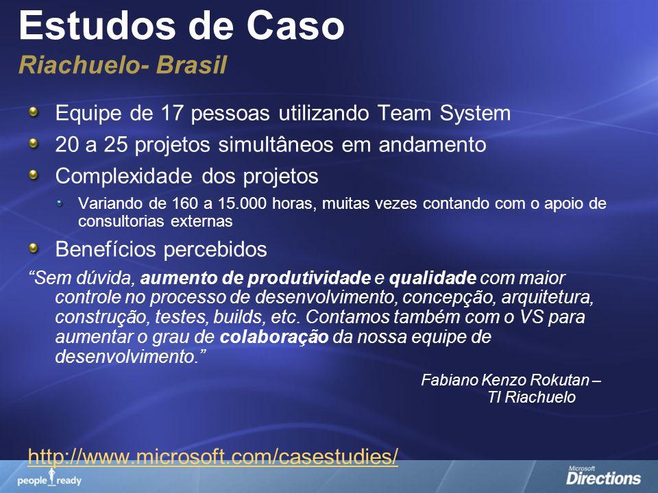 Estudos de Caso Riachuelo- Brasil