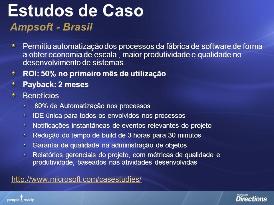 Estudos de Caso Ampsoft - Brasil