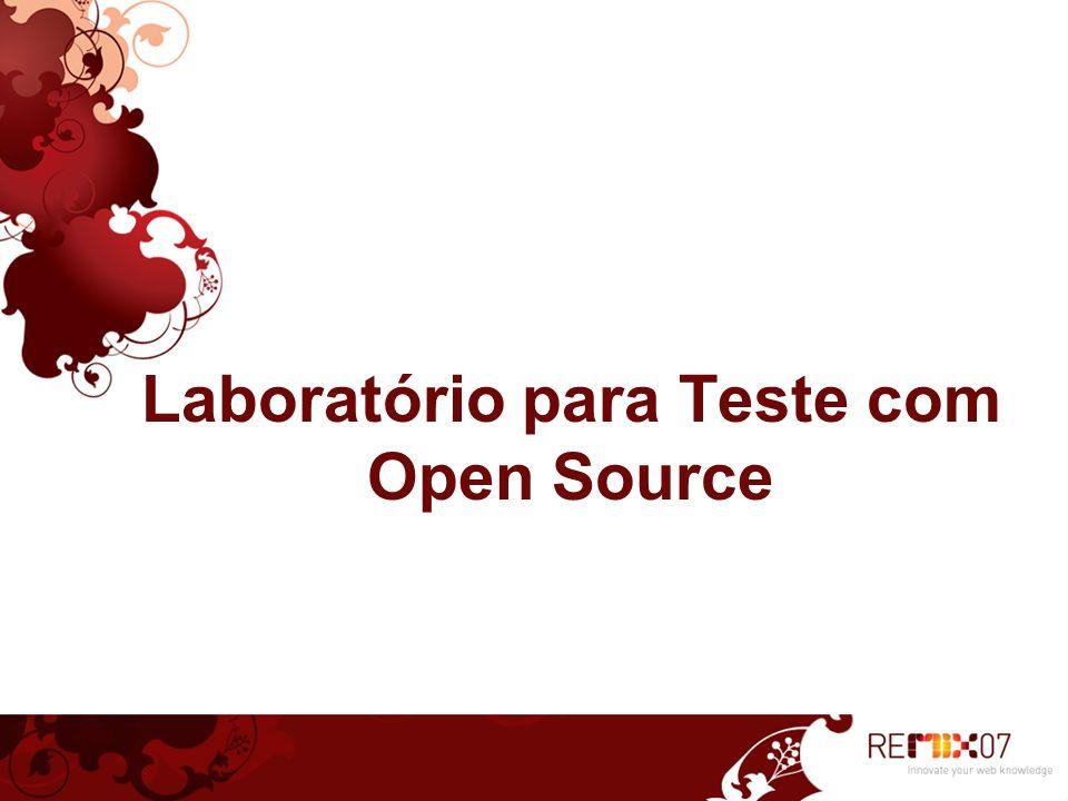 Laboratório para Teste com Open Source