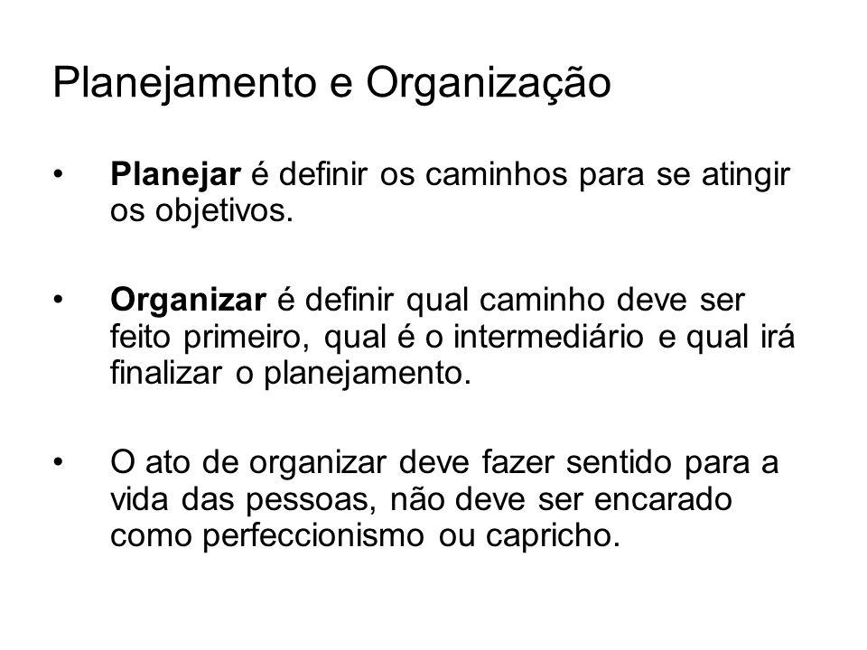 Planejamento e Organização