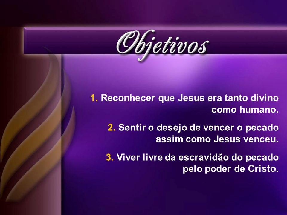 Reconhecer que Jesus era tanto divino como humano.