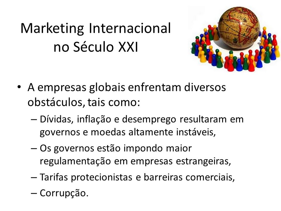 Marketing Internacional no Século XXI