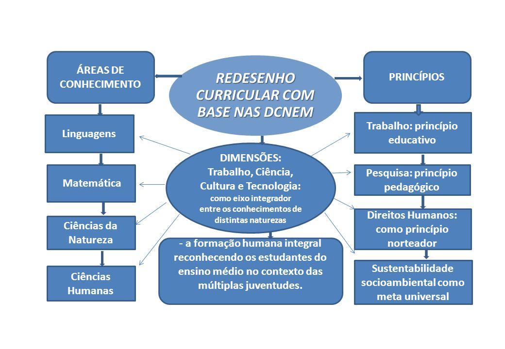REDESENHO CURRICULAR COM BASE NAS DCNEM