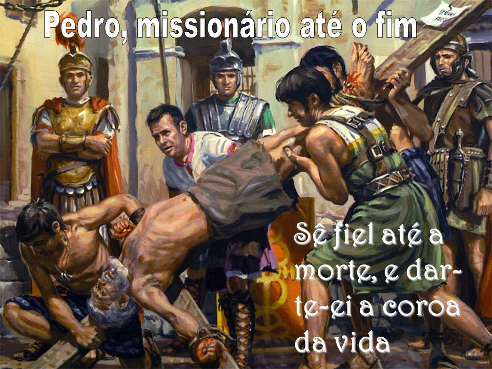 Pedro, missionário até o fim
