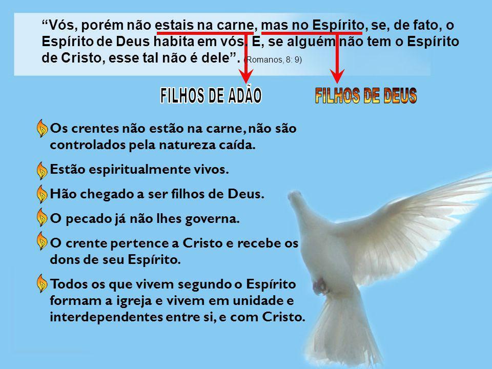 FILHOS DE ADÃO FILHOS DE DEUS