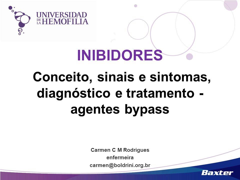 Conceito, sinais e sintomas, diagnóstico e tratamento -agentes bypass
