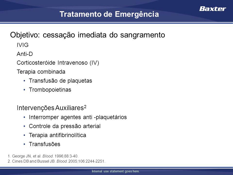 Tratamento de Emergência
