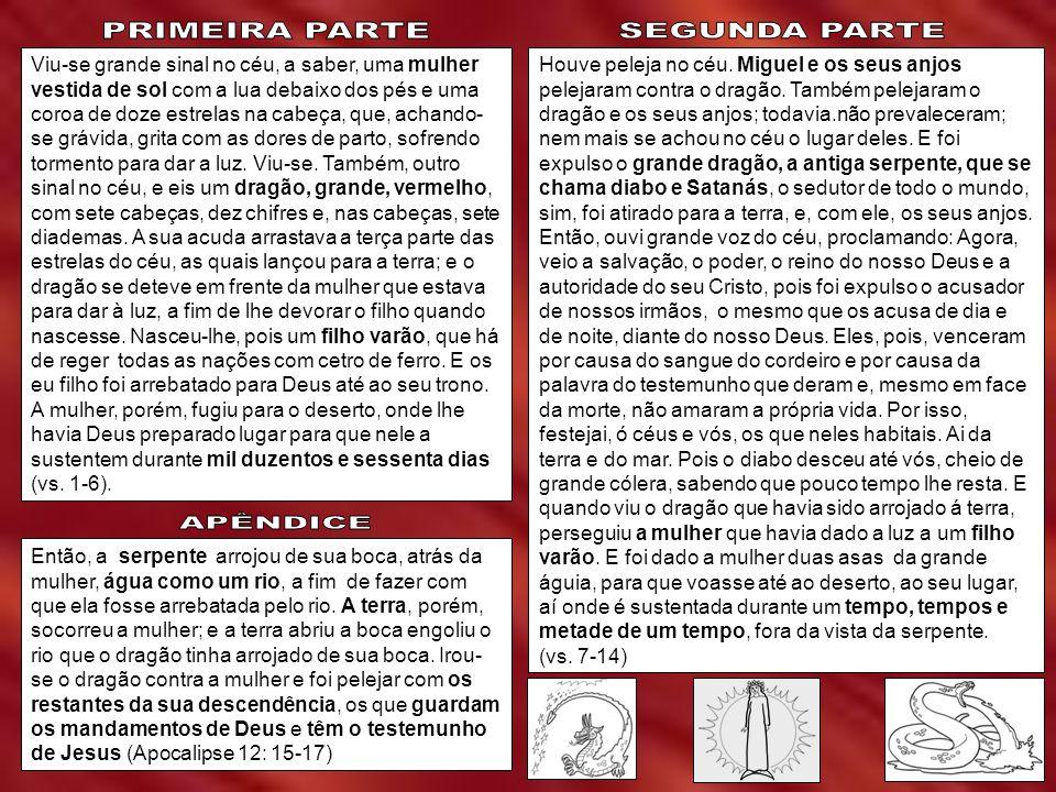 PRIMEIRA PARTE SEGUNDA PARTE APÊNDICE