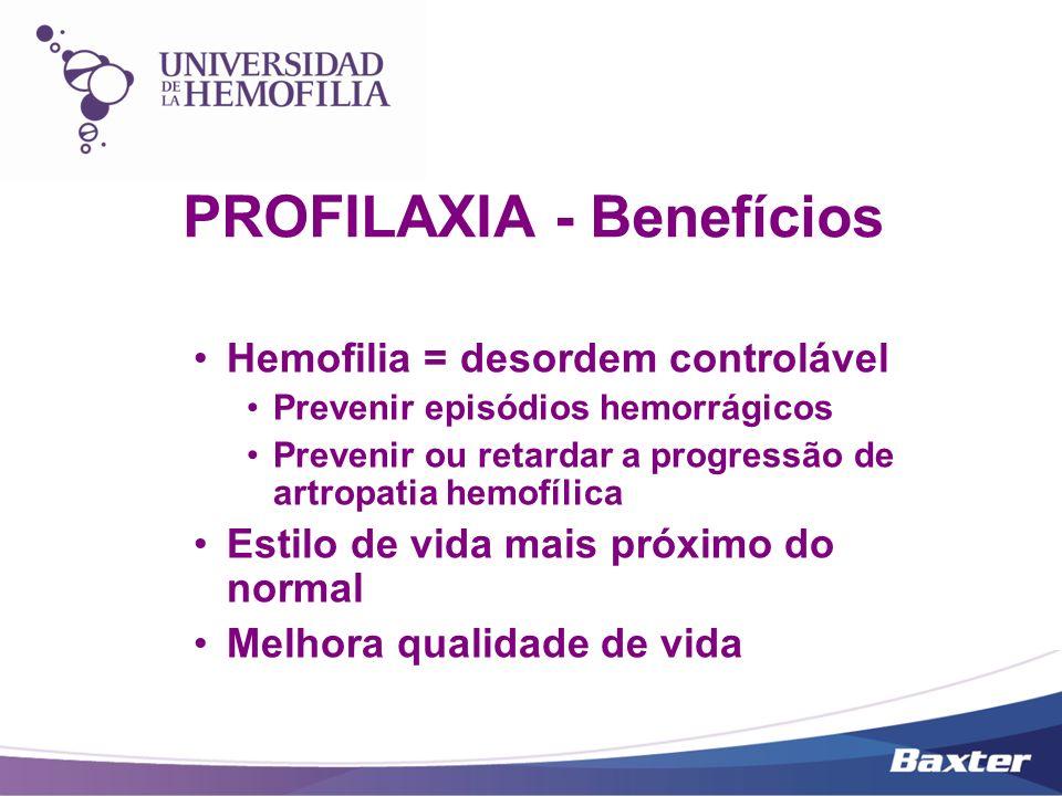 PROFILAXIA - Benefícios